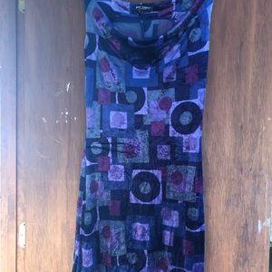 Velvet dress by Betsy Johnson NY